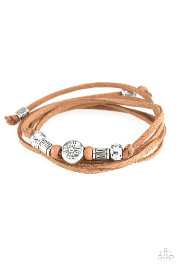 Paparazzi Find Your Way Brown Bracelet - Glitzygals5dollarbling Paparazzi Boutique