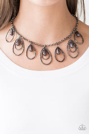 Rustic Ritz Black Necklace - Glitzygals5dollarbling Paparazzi Boutique