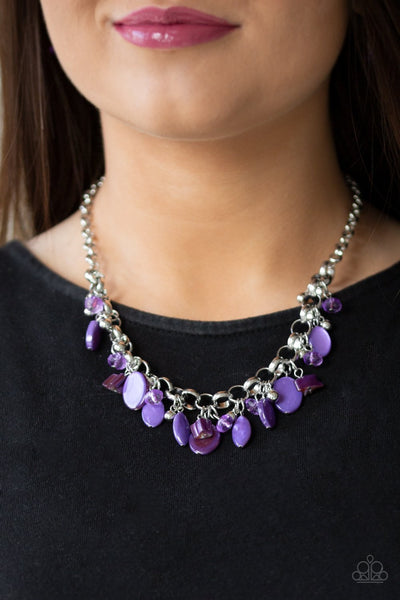 Paparazzi I Want To Sea The World Purple Necklace - Glitzygals5dollarbling Paparazzi Boutique