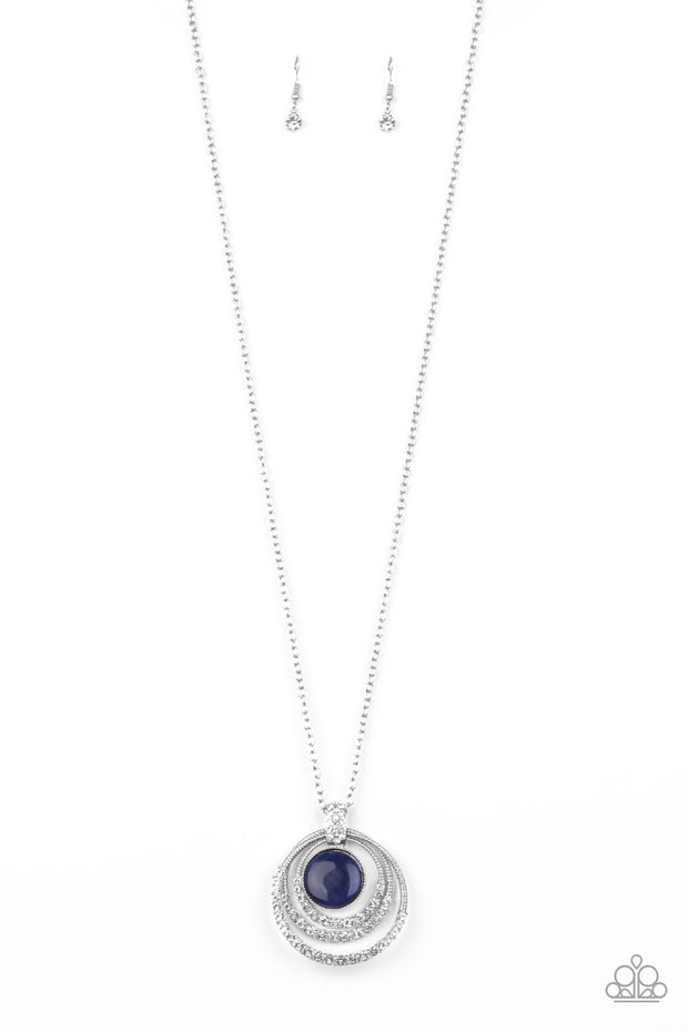 Paparazzi A Diamond a Day Blue Exclusive Life of the Party Necklace - Glitzygals5dollarbling Paparazzi Boutique