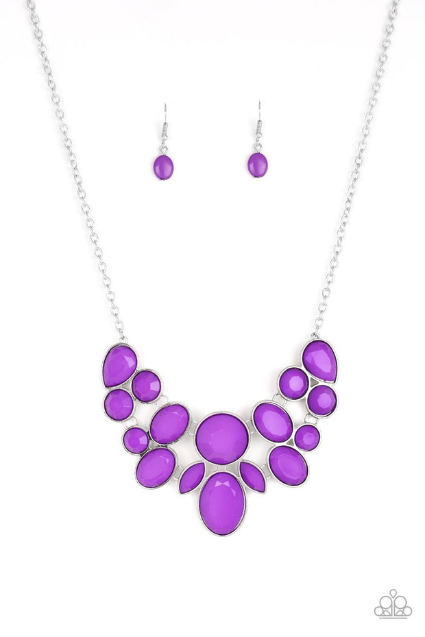 Demi Diva - purple - Paparazzi necklace - Glitzygals5dollarbling Paparazzi Boutique