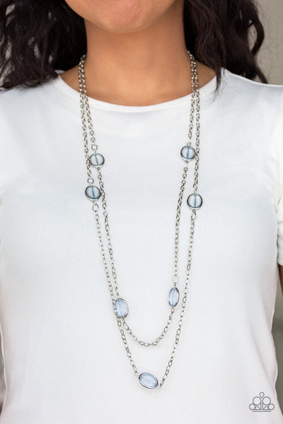 Back for More - blue - Paparazzi necklace - Glitzygals5dollarbling Paparazzi Boutique