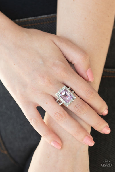 PREORDER Paparazzi Utmost Prestige - Purple Ring - Glitzygals5dollarbling Paparazzi Boutique