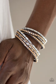 "Paparazzi ""This Time With Attitude"" Silver Bracelet - Glitzygals5dollarbling Paparazzi Boutique"