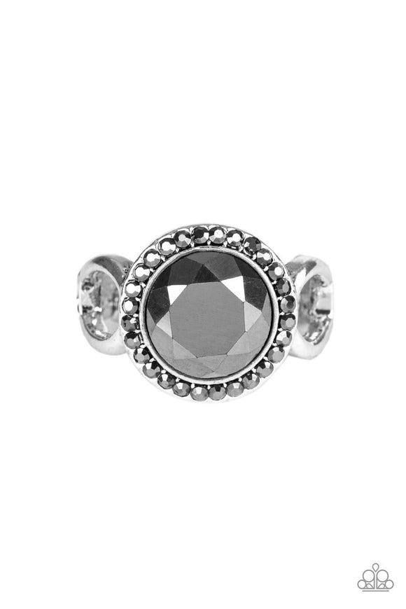 IT'S GONNA GLOW! SILVER Hematite RING