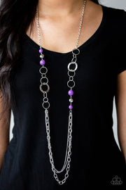 Paparazzi Accessories ~ Modern Motley - Purple