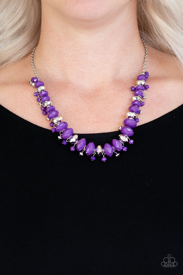 Paparazzi BRAGS To Riches Purple Necklace - Glitzygals5dollarbling Paparazzi Boutique