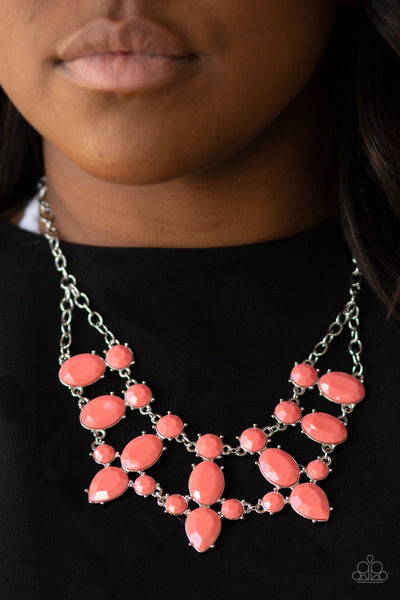 Paparazzi Goddess Glow Orange Necklace - Glitzygals5dollarbling Paparazzi Boutique