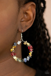 Going for Grounded - multi - Paparazzi earrings - Glitzygals5dollarbling Paparazzi Boutique
