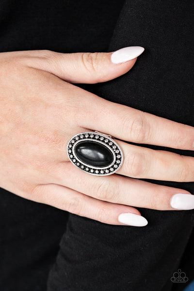 Paparazzi Desert Heat Black Ring - Glitzygals5dollarbling Paparazzi Boutique