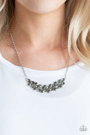 Paparazzi Special Treatment Silver Hematite Necklace - Glitzygals5dollarbling Paparazzi Boutique