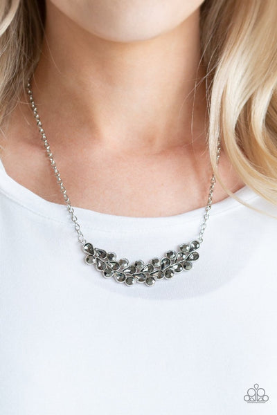 Paparazzi Special Treatment Silver Hematite Necklace