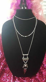 Paparazzi Wildland Wonderland Silver Exclusive Necklace - Glitzygals5dollarbling Paparazzi Boutique
