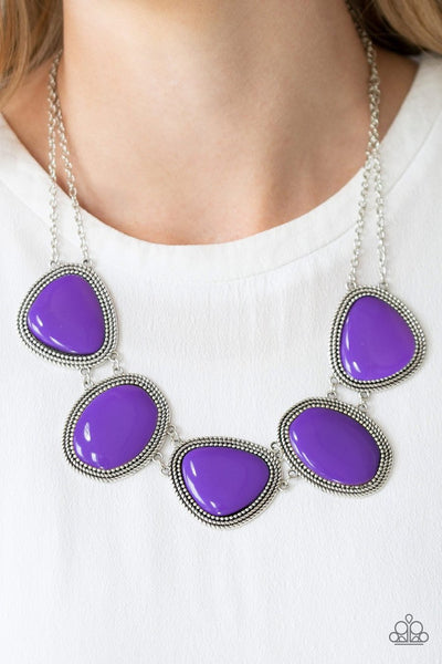 Paparazzi Viva La Vivid Purple Necklace - Glitzygals5dollarbling Paparazzi Boutique