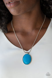 Paparazzi Rising Stardom - Blue Necklace - Glitzygals5dollarbling Paparazzi Boutique