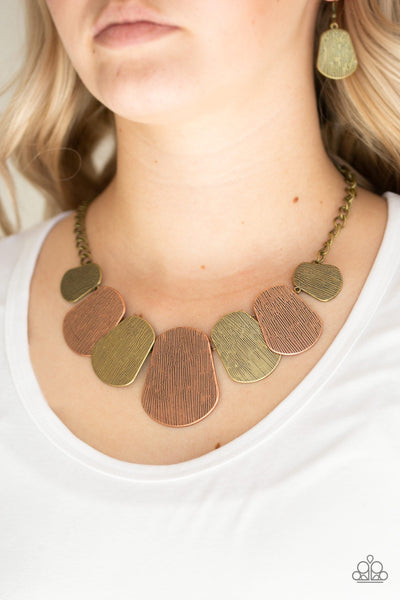 "Paparazzi ""Cave The Day"" Multi Necklace - Glitzygals5dollarbling Paparazzi Boutique"