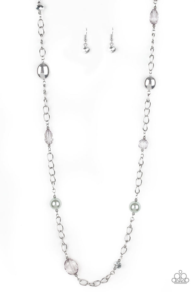 Paparazzi Only For Special Occasions - Silver Necklace - Glitzygals5dollarbling Paparazzi Boutique