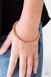 Paparazzi Seven Figure Fabulous Copper Bracelet