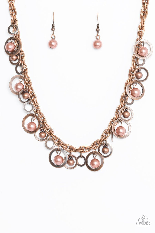 "Paparazzi ""Shipwreck Style"" Copper Necklace - Glitzygals5dollarbling Paparazzi Boutique"
