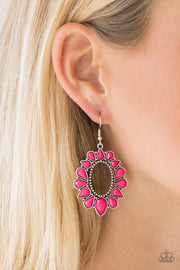 Paparazzi Fashionista Flavor Pink Earrings