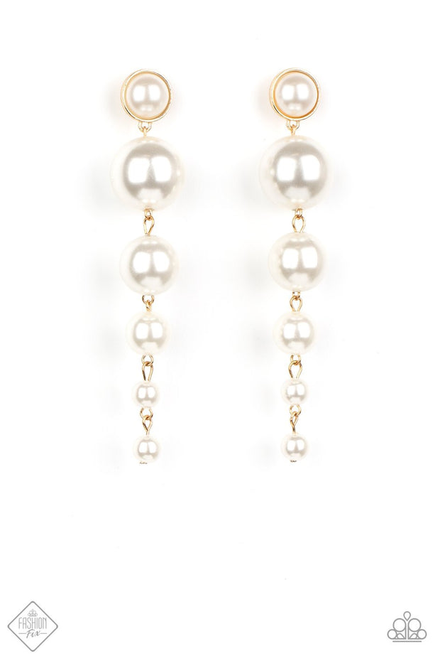 Paparazzi Living a WEALTHY Lifestyle - Gold Earrings - Glitzygals5dollarbling Paparazzi Boutique
