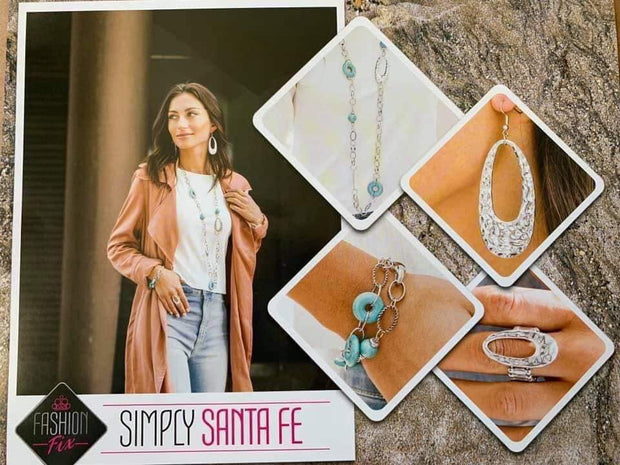 Paparazzi Simply Santa Fe Complete Trend Blend Fashion Fix Exclusive Set September 2019 - Glitzygals5dollarbling Paparazzi Boutique