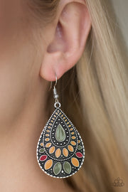 Paparazzi Westside Wildside Multi Earrings - Glitzygals5dollarbling Paparazzi Boutique