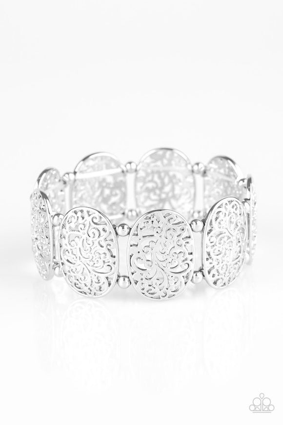 "Paparazzi ""Everyday Elegance"" Silver Bracelet"