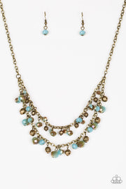 Paparazzi Fashion Show Fabulous Brass Necklace - Glitzygals5dollarbling Paparazzi Boutique