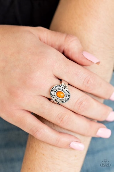 Paparazzi Best In Zest Orange Dainty Ring - Glitzygals5dollarbling Paparazzi Boutique