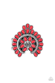Trendy Talisman - red - Paparazzi ring - Glitzygals5dollarbling Paparazzi Boutique