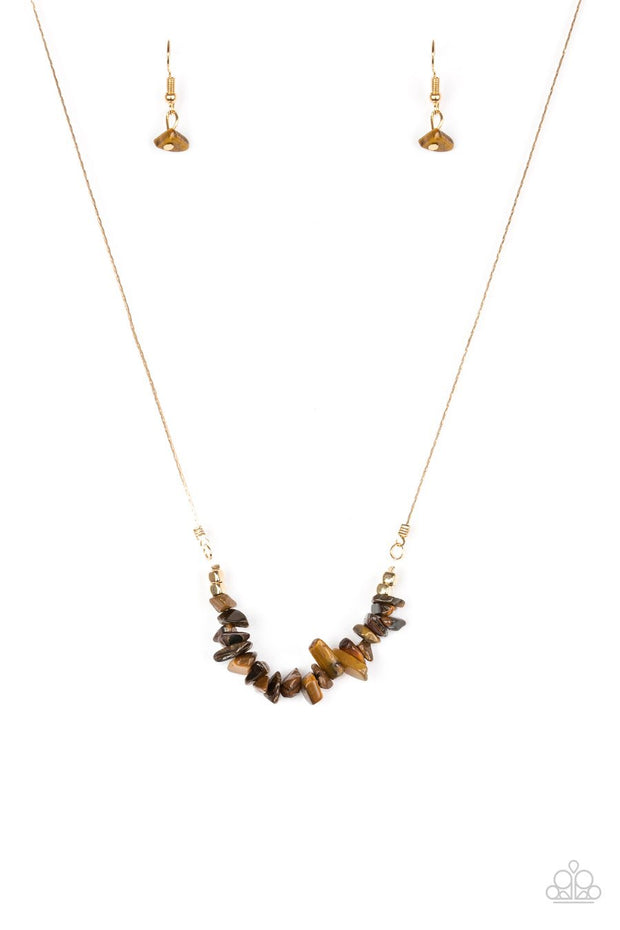 Back to Nature - brown - Paparazzi necklace - Glitzygals5dollarbling Paparazzi Boutique