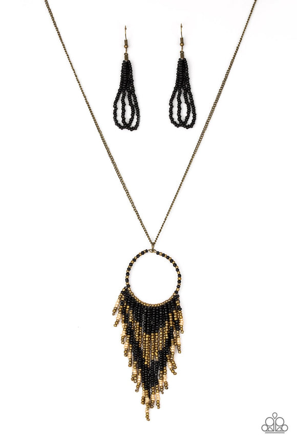 Badlands Beauty Black Necklace