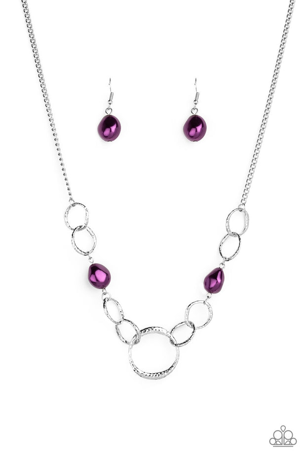 Paparazzi Lead Role Purple Necklace - Glitzygals5dollarbling Paparazzi Boutique