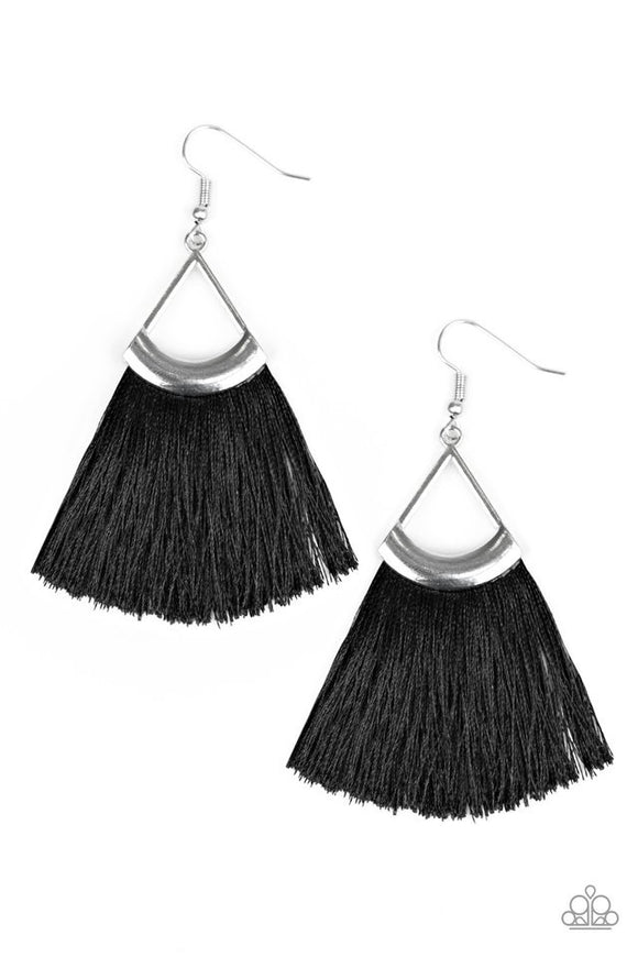 Paparazzi Tassel Tuesdays - Black