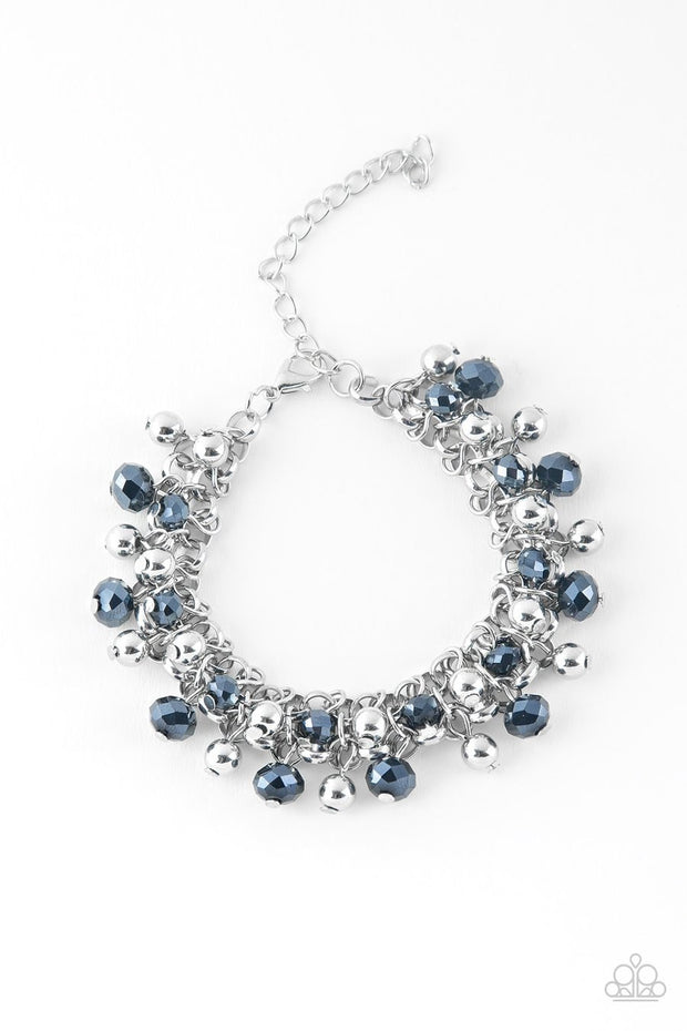Paparazzi Just For The FUND Of It! - Blue - Bracelet - Glitzygals5dollarbling Paparazzi Boutique