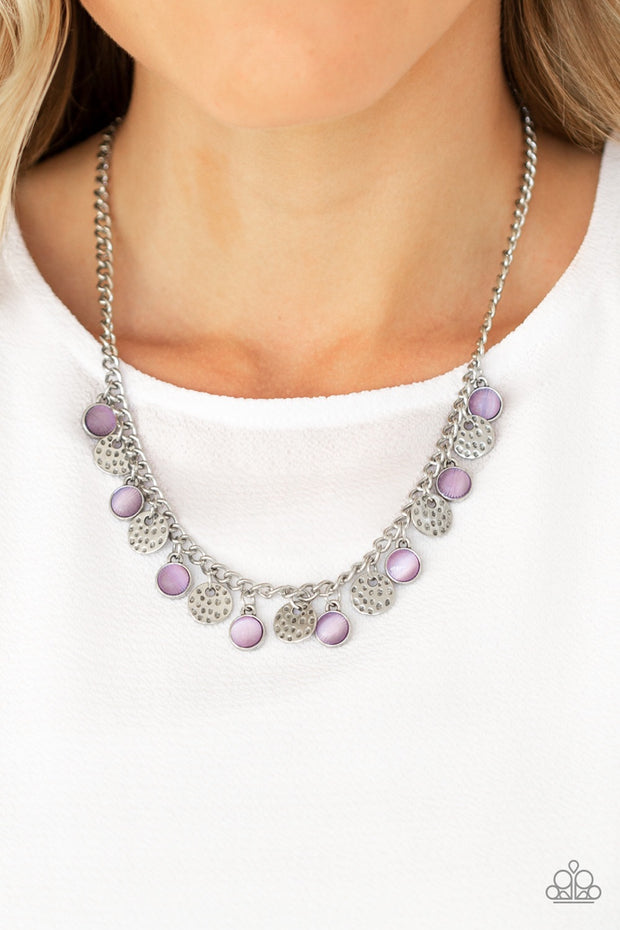 Paparazzi Treasure Tour - Purple Necklace - Glitzygals5dollarbling Paparazzi Boutique