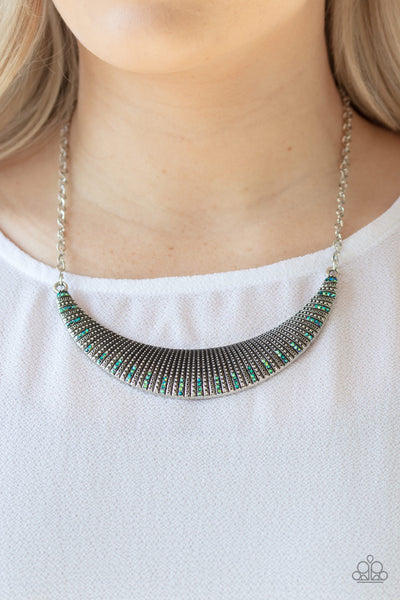 Modern Day Moonshine - Multi Oil Spill Paparazzi Necklace - Glitzygals5dollarbling Paparazzi Boutique