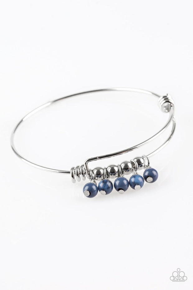 "Paparazzi ""All Roads Lead to ROAM"" Blue Bracelet - Glitzygals5dollarbling Paparazzi Boutique"