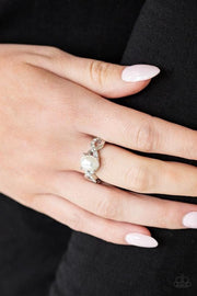 Paparazzi Accessories - Limitless Luminosity - White Ring