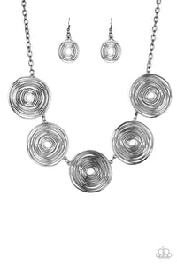 Paparazzi SOL-Mates Necklace Black