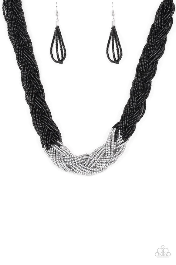 Brazilian Brilliance Black Paparazzi Necklace
