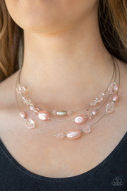 Pacific Pagaentry - pink - Paparazzi necklace - Glitzygals5dollarbling Paparazzi Boutique