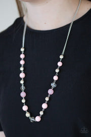 Paparazzi Weekend Getaway Pink Necklace - Glitzygals5dollarbling Paparazzi Boutique