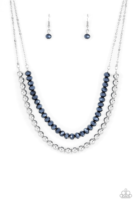 Paparazzi Color of the Day Blue Necklace