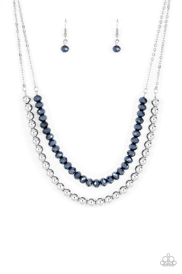 Paparazzi Color of the Day Blue Necklace - Glitzygals5dollarbling Paparazzi Boutique