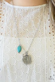 Paparazzi Free-Spirited Forager - Blue Necklace - Glitzygals5dollarbling Paparazzi Boutique