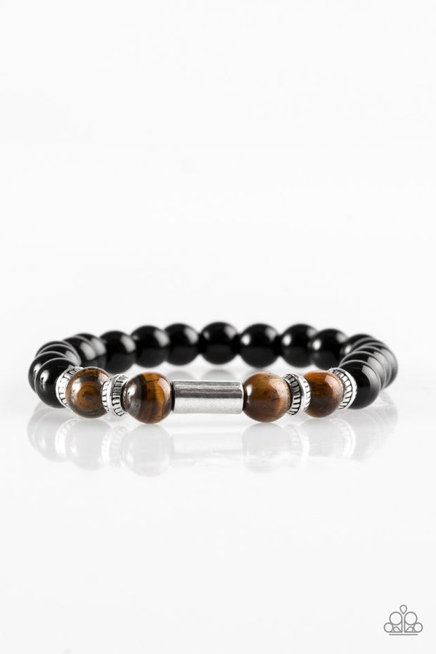 Paparazzi Entranced Brown Urban Bracelet - Glitzygals5dollarbling Paparazzi Boutique