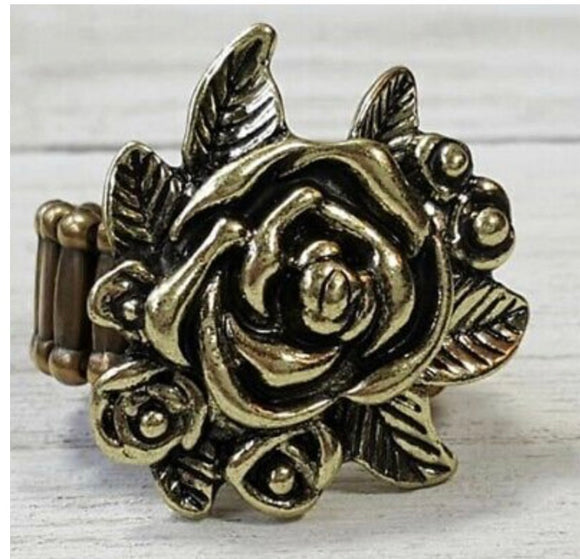 Paparazzi Bouquet Bonanza Brass Ring