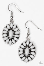 "Paparazzi ""Spring Tea Parties"" Silver Earrings - Glitzygals5dollarbling Paparazzi Boutique"